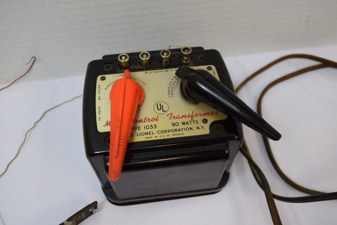LIONEL -1033 MULTI CONTROL - TRANSFORMER - 2