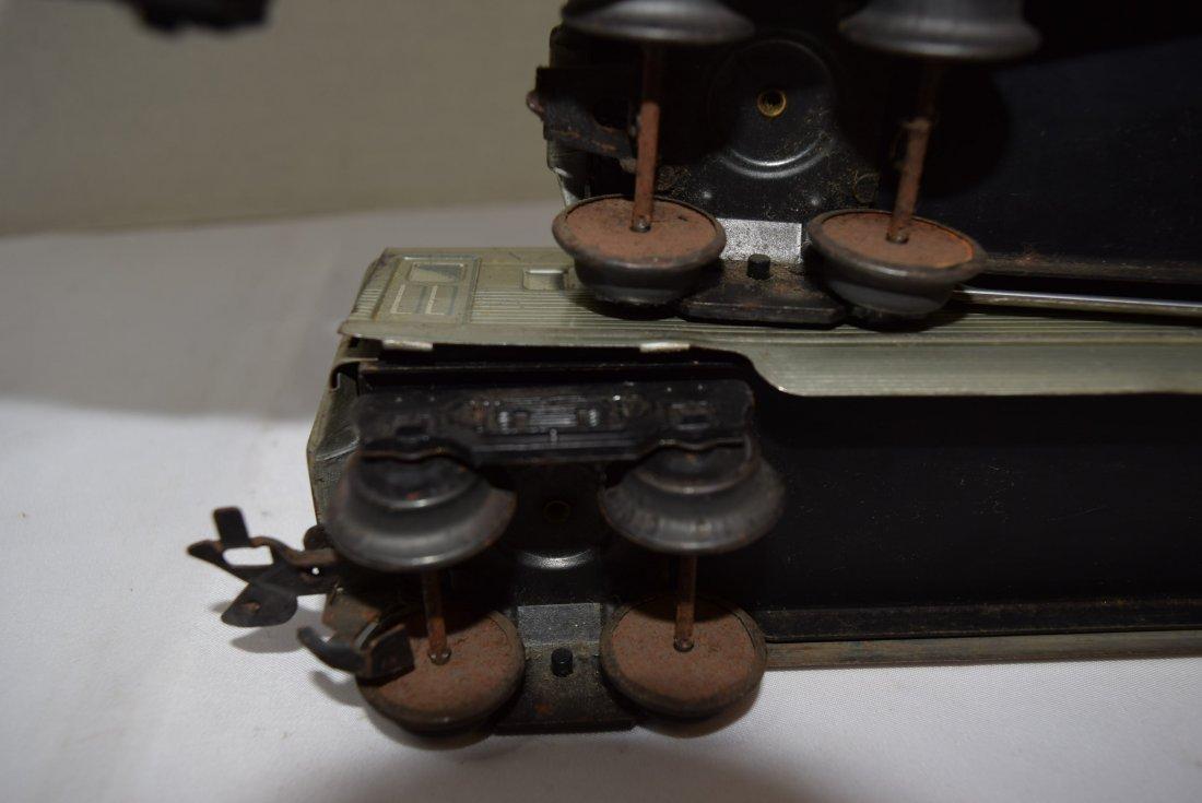 3 MARX SANTA FE PASSENGER CARS - 7