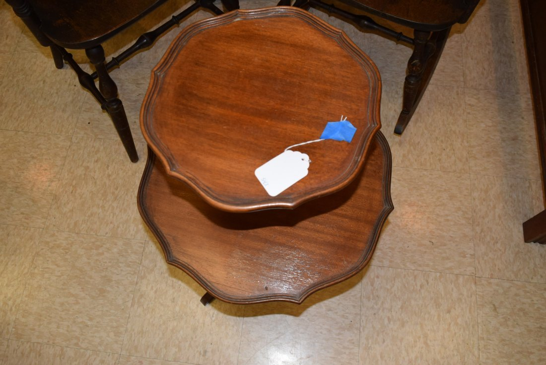 2 TIERED ROUND TABLE - 3