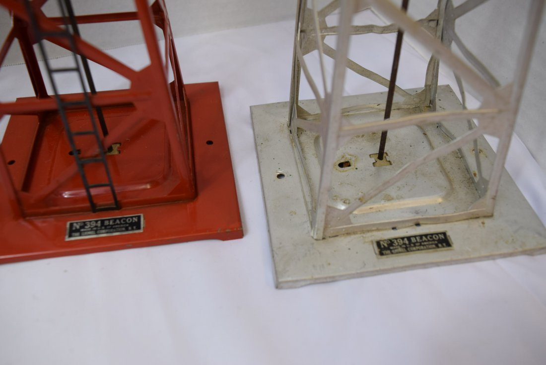 5 LIONEL BEACONS  O SCALE 394 - 3