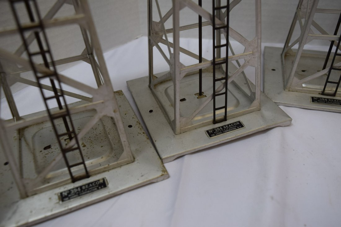 5 LIONEL BEACONS  O SCALE 394 - 5