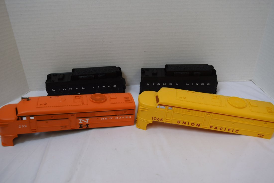 4  LIONEL CAB COVERS