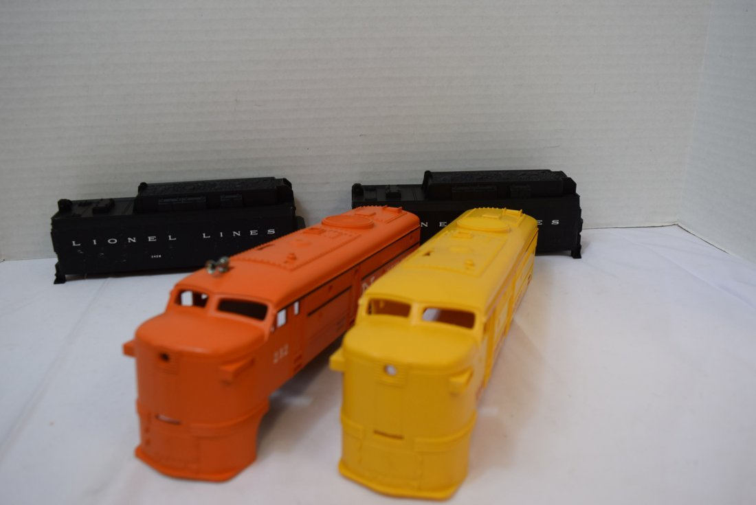 4  LIONEL CAB COVERS - 2