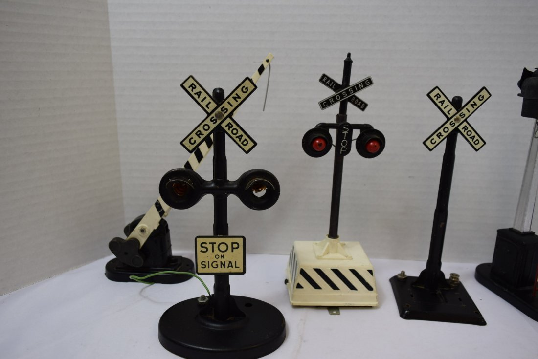 6 RAILROAD CROSSING ARMS; SIGNS AND LIGHTS - 5