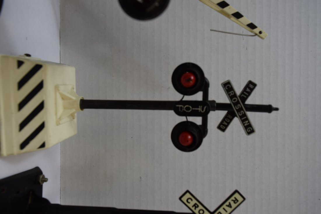 6 RAILROAD CROSSING ARMS; SIGNS AND LIGHTS - 7