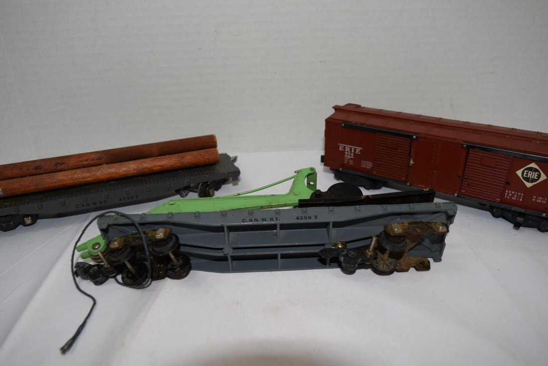 3 AMERICAN FLYER ROLLING CARS - 3