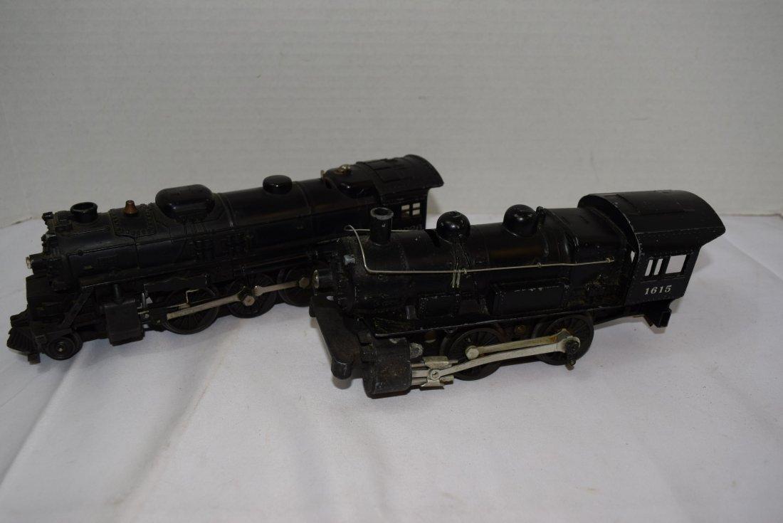 2 LIONEL LOCOMOTIVE TRAINS