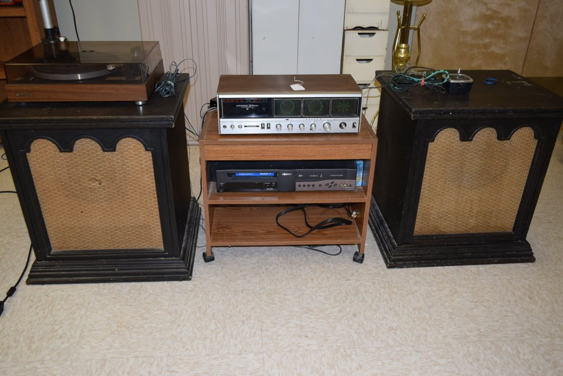 VINTAGE STEREO GROUP LOT
