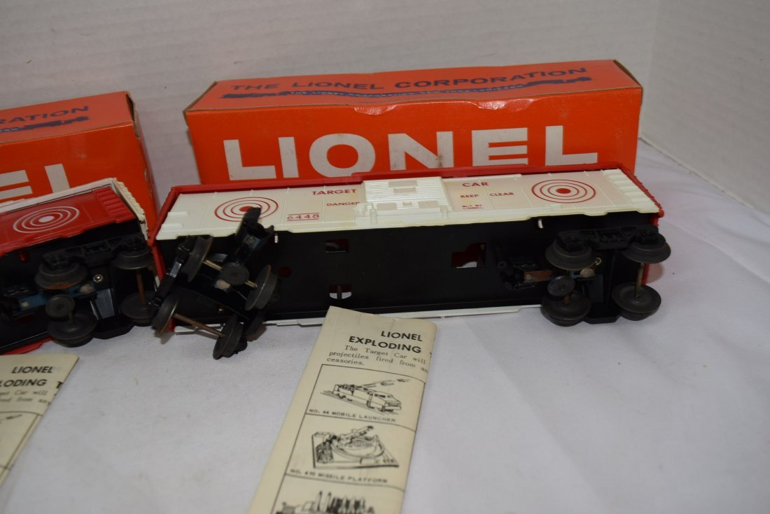 2 LIONEL EXPLODING ROLLING CARS - 6