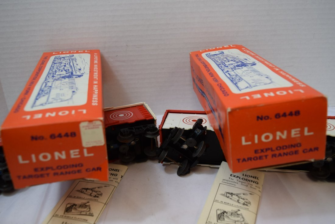 2 LIONEL EXPLODING ROLLING CARS - 8