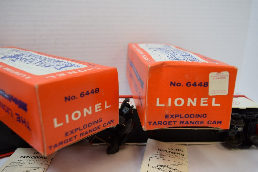 2 LIONEL EXPLODING ROLLING CARS - 9