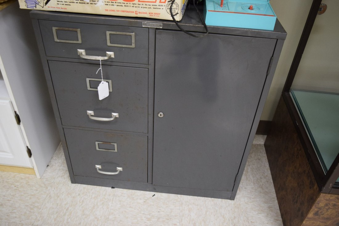 TOWER FILE CABINET SAFE