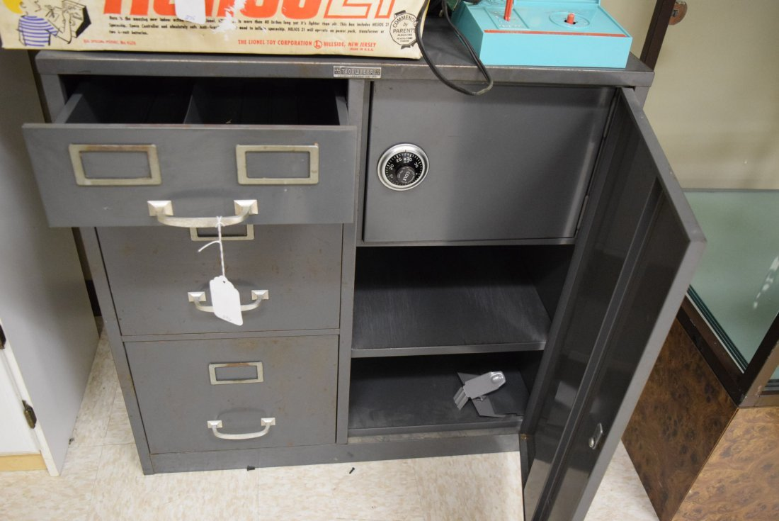 TOWER FILE CABINET SAFE - 2