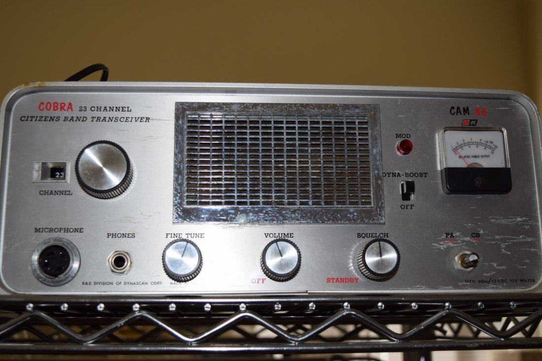 3 VINGAGE HAM RADIOS - 2