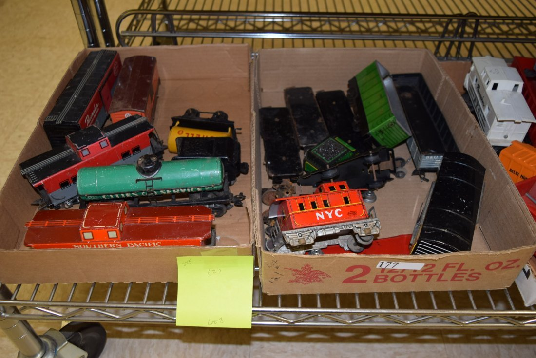 VARIOUS TIN LITHO TRAINS
