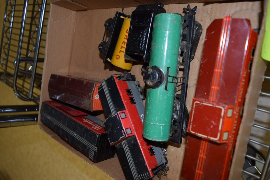 VARIOUS TIN LITHO TRAINS - 2