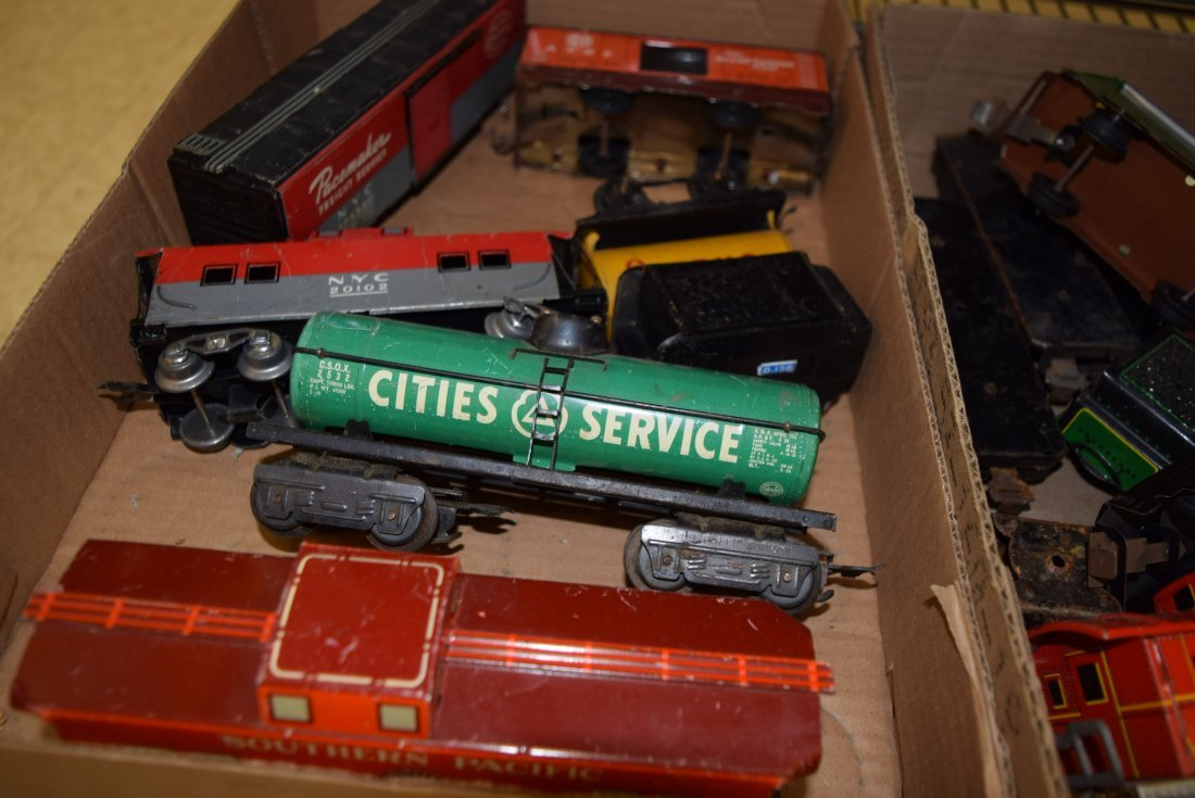 VARIOUS TIN LITHO TRAINS - 4