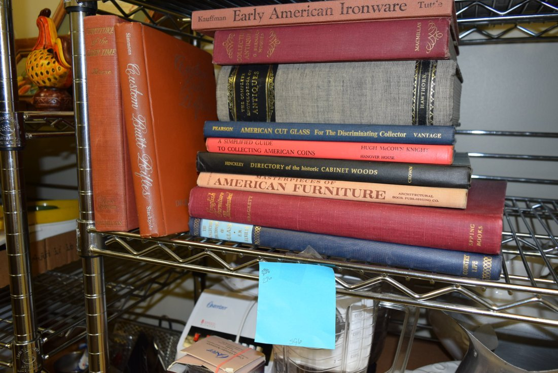 VARIOUS VINTAGE REFERENCE BOOKS