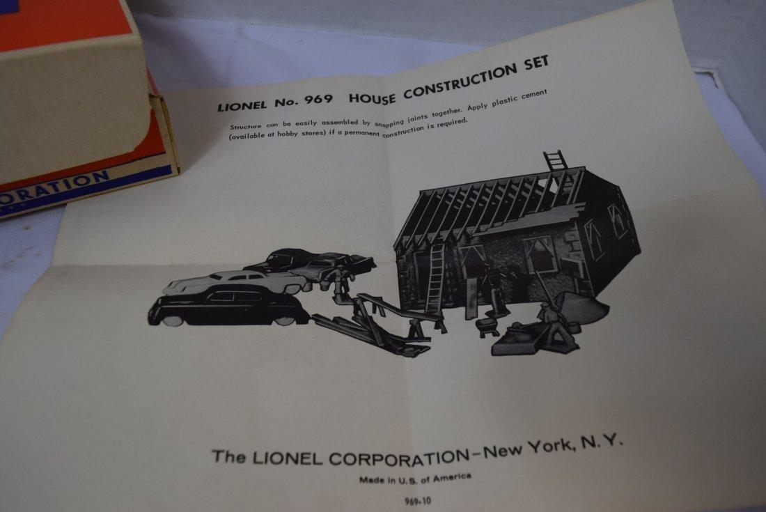 LIONEL HOUSE CONTRUCTION SET 969 - 3