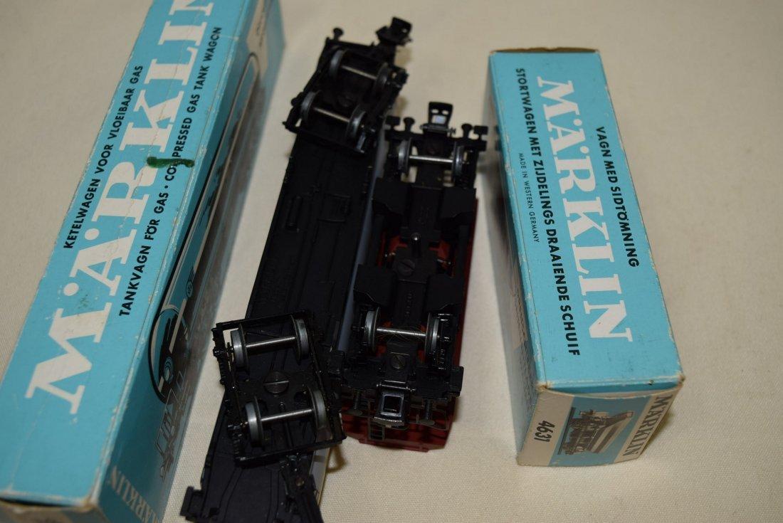 MARKLIN HO HOPPER AND TANKER ROLLING CARS - 7