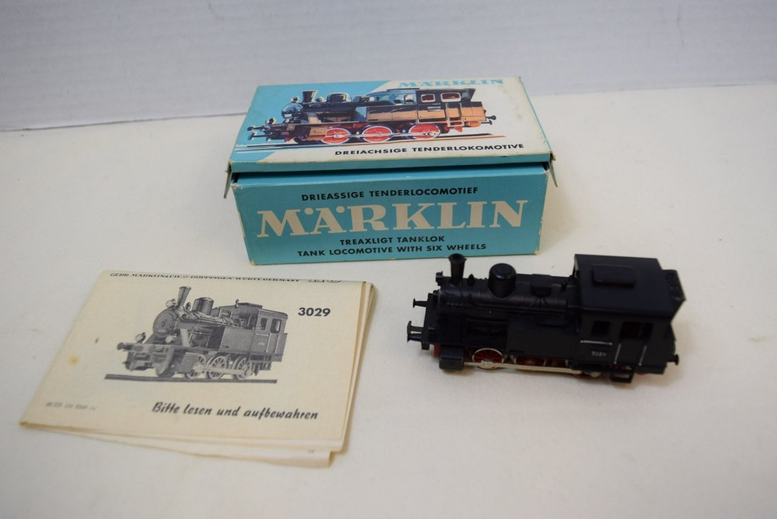 MARKLIN HO LOCOMOTIVE 3029 IN ORIGINAL BOX