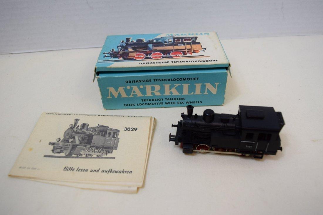 MARKLIN HO LOCOMOTIVE 3029 IN ORIGINAL BOX