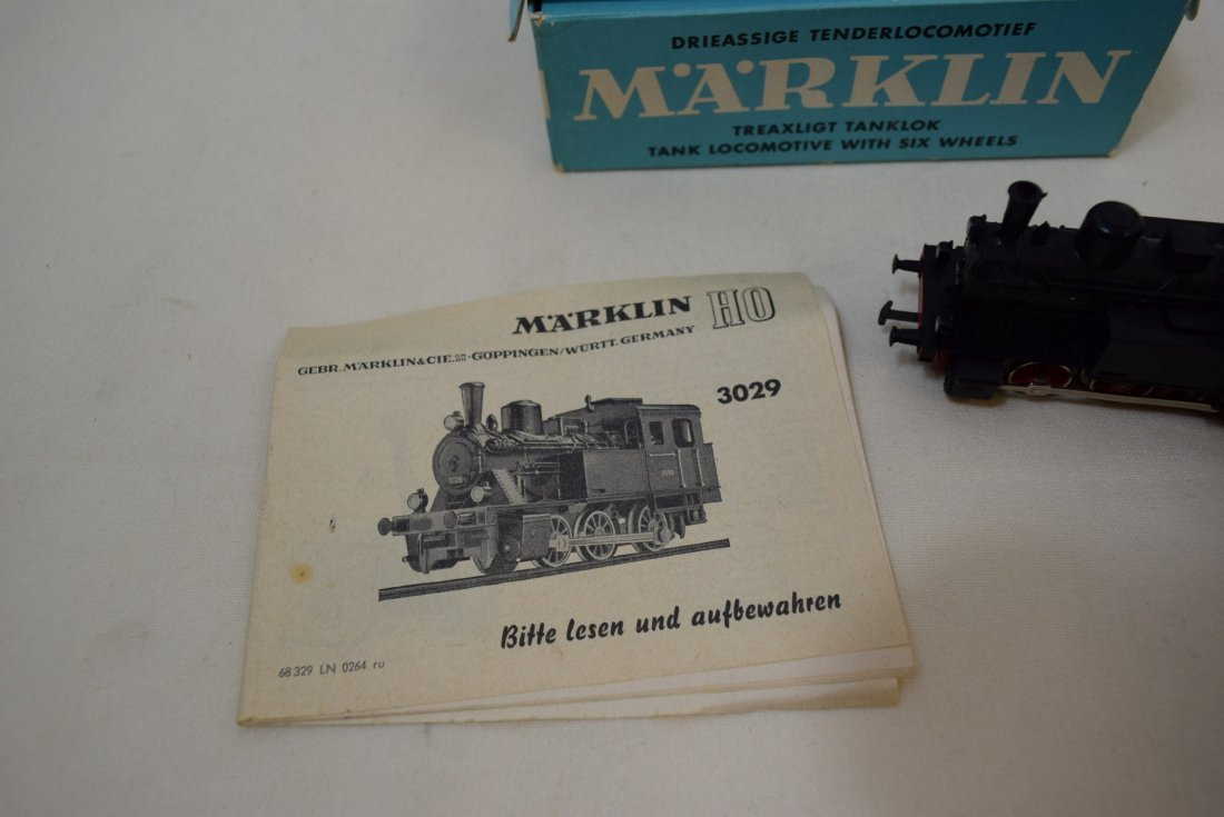 MARKLIN HO LOCOMOTIVE 3029 IN ORIGINAL BOX - 3