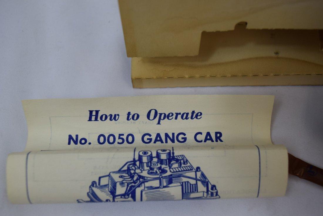LIONEL HO SCALE ORANGE GANG CAR VINTAGE - 3