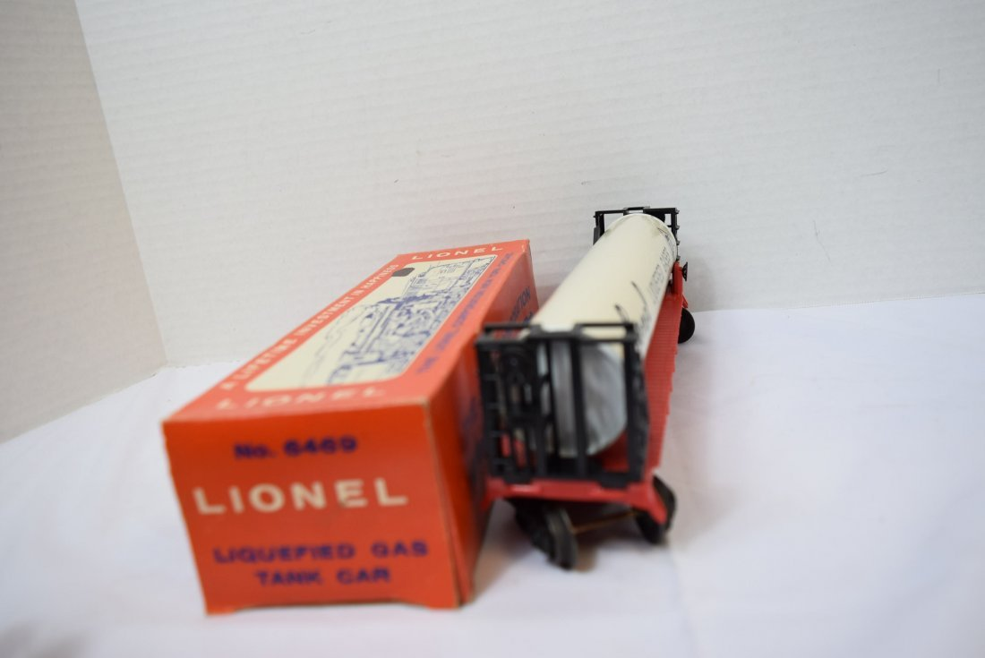 LIONEL LIQUEFIED GAS TANK ROLLING CAR - 5