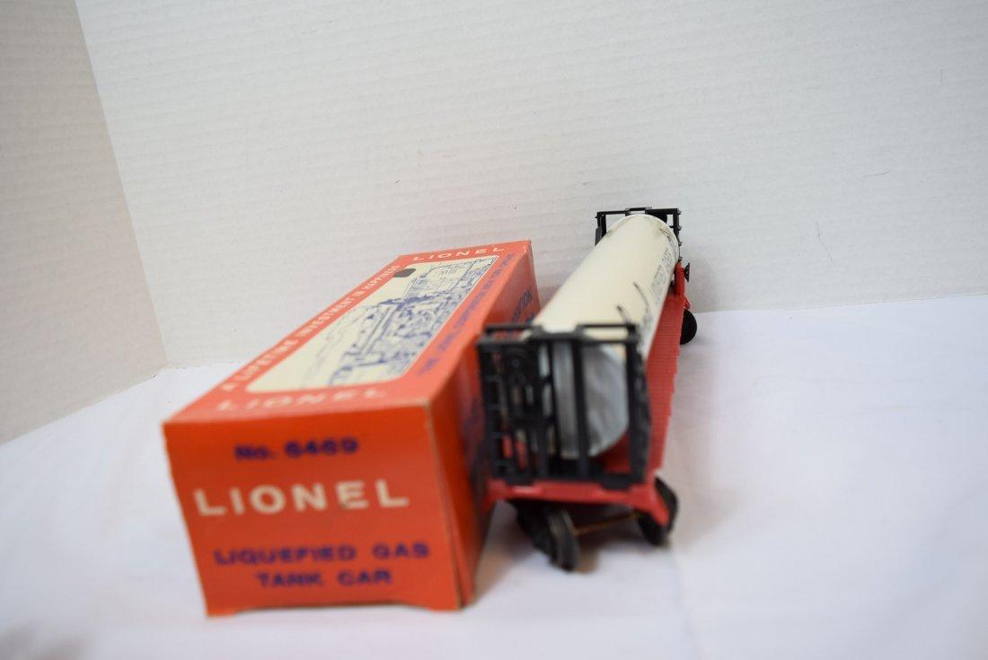 LIONEL LIQUEFIED GAS TANK ROLLING CAR - 5