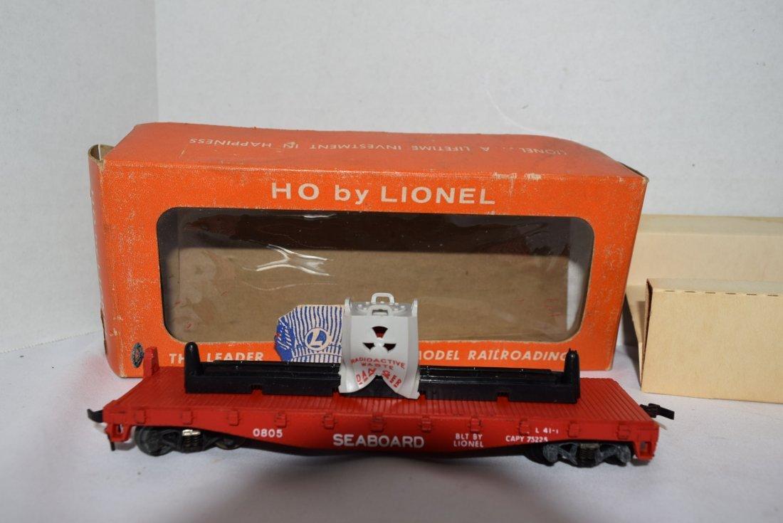 LIONEL HO DERRICK CAR PENNSYLVANIA AND RADIOACTIVE - 2
