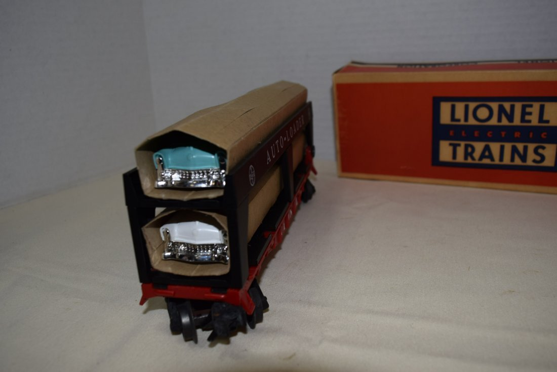 LIONEL AUTO-LOADER TRAIN CAR - 2