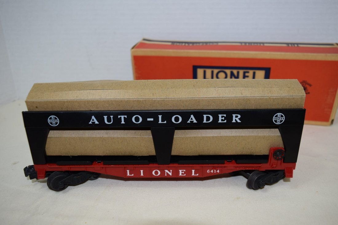 LIONEL AUTO-LOADER TRAIN CAR - 3
