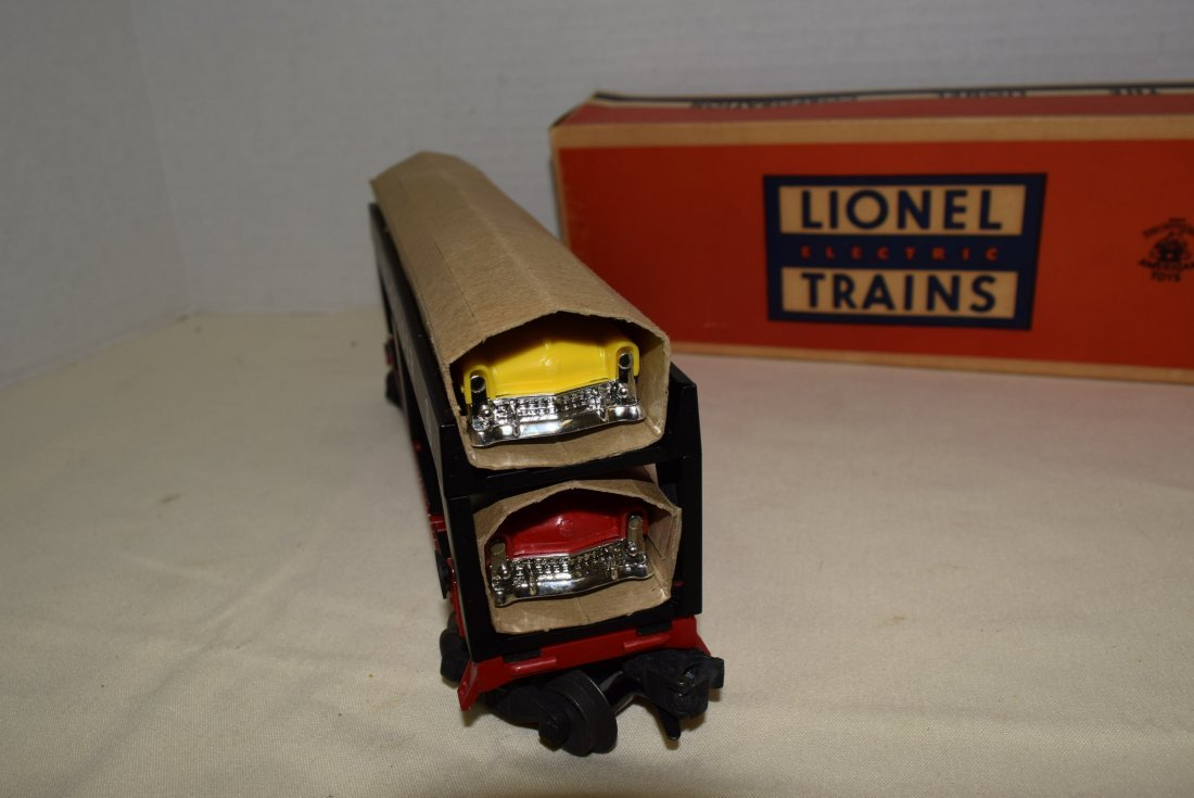LIONEL AUTO-LOADER TRAIN CAR - 4