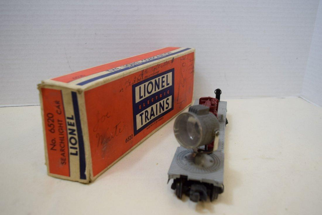 LIONEL SEARCHLIGHT CAR 6520 - 2