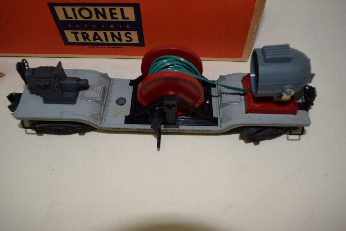 LIONEL SEARCHLIGHT EXTENSION CAR 3650 - 2