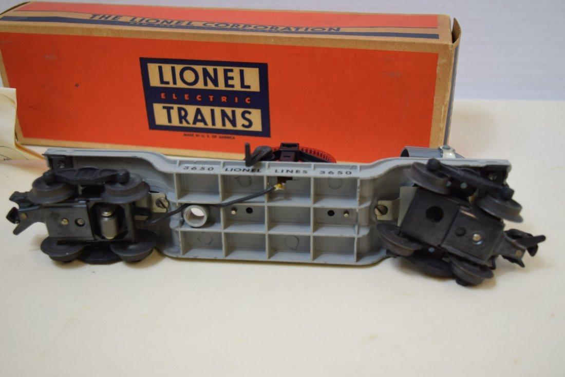 LIONEL SEARCHLIGHT EXTENSION CAR 3650 - 3