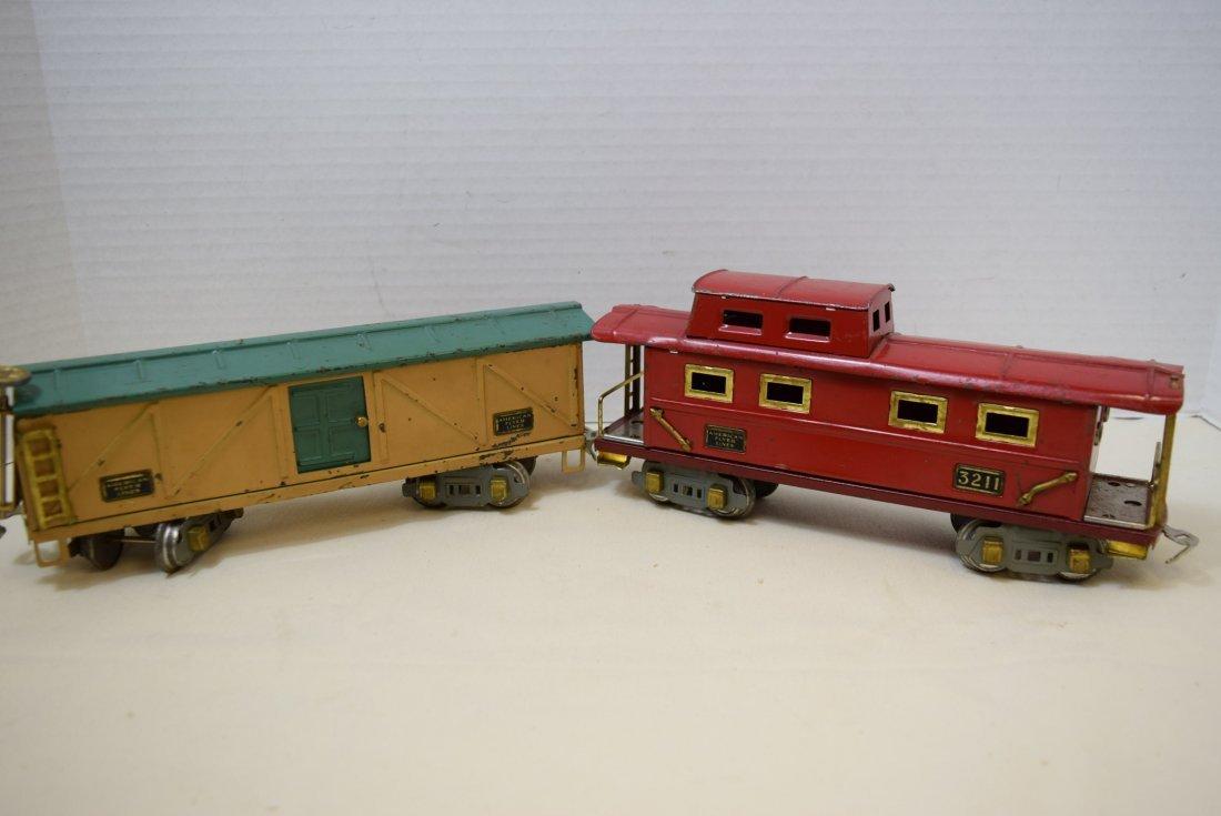 AMERICAN FLYER PREWAR  BOX CAR AND CABOOSE