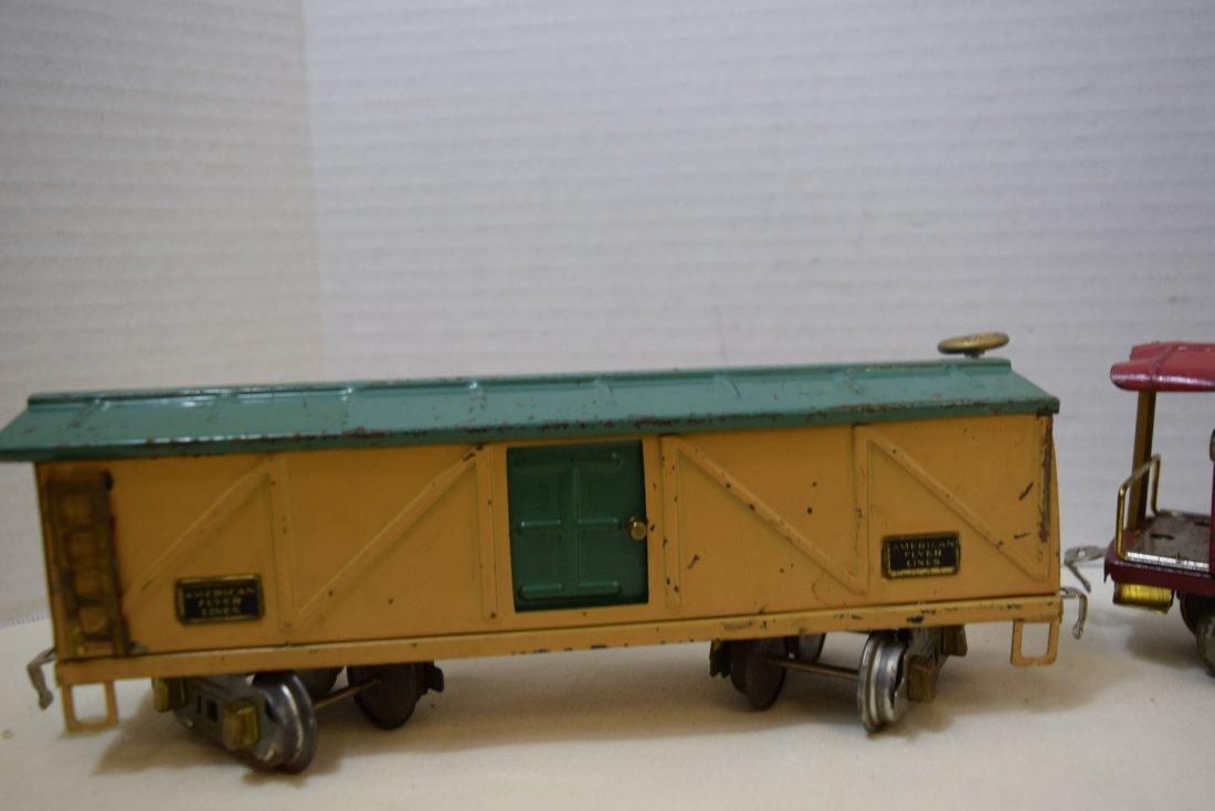 AMERICAN FLYER PREWAR  BOX CAR AND CABOOSE - 5