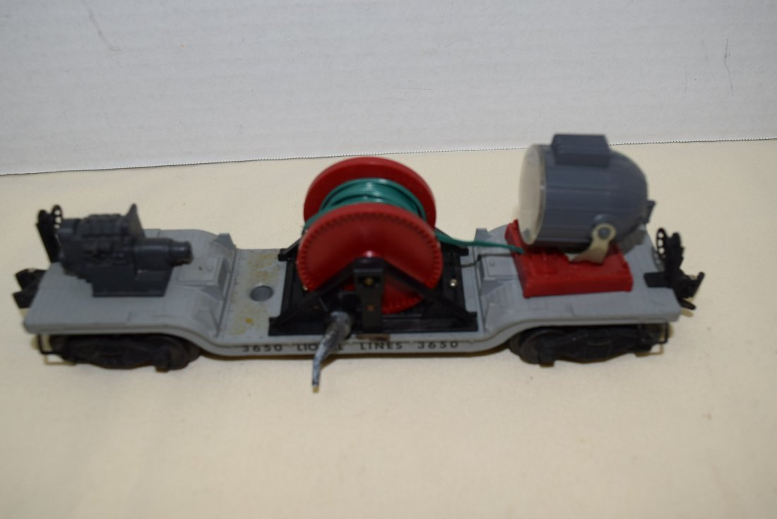LIONEL ROLLING SEARCHLIGHT EXTENSION CAR