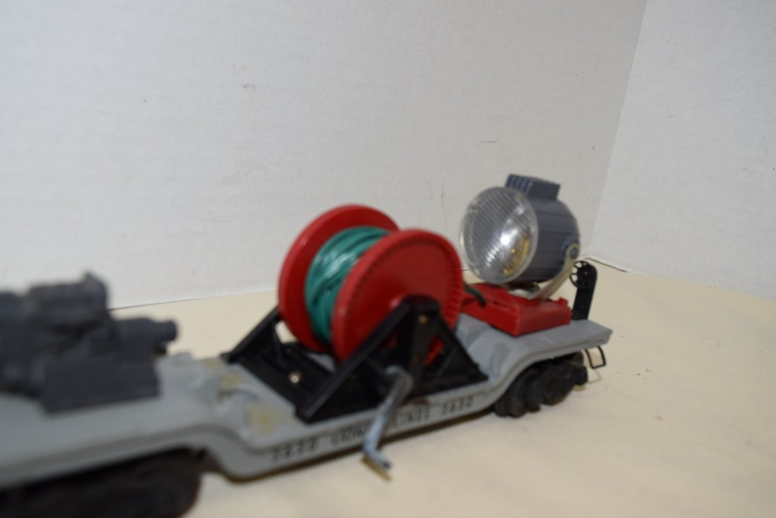 LIONEL ROLLING SEARCHLIGHT EXTENSION CAR - 2