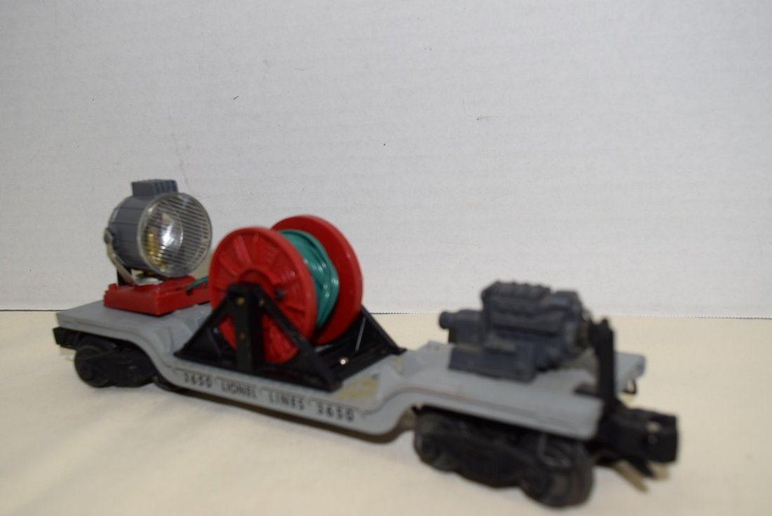 LIONEL ROLLING SEARCHLIGHT EXTENSION CAR - 3
