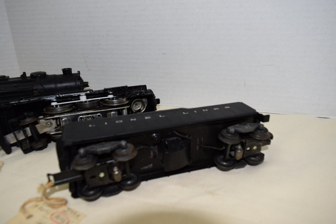 2 LIONEL LOCOMOTIVES AND ONE TENDER - 3
