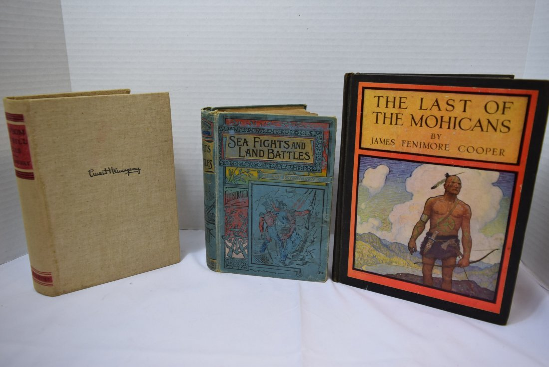 3 VINTAGE/ANTIQUE BOOKS