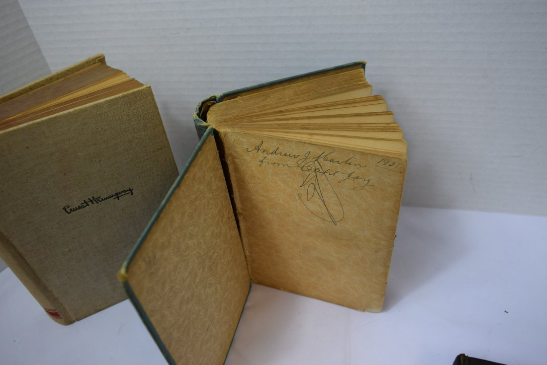 3 VINTAGE/ANTIQUE BOOKS - 5