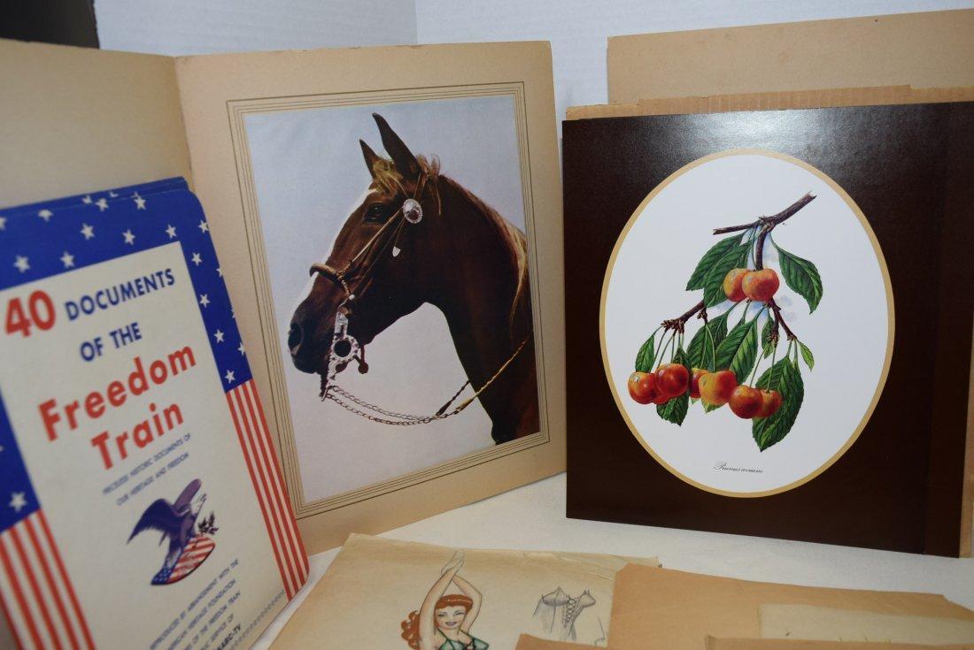 LOT OF VARIOUS ORIGINAL ART; BEAUTIES; HORSES AND - 2