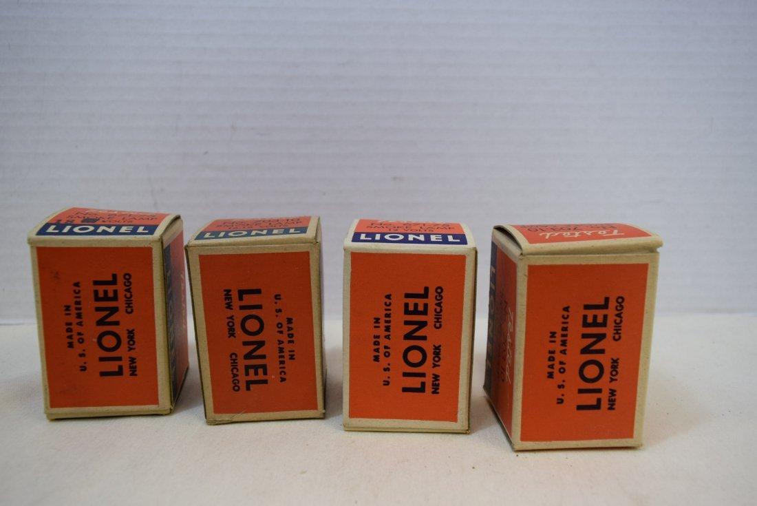 4 VINTAGE LIONEL SMOKE LAMPS - 2