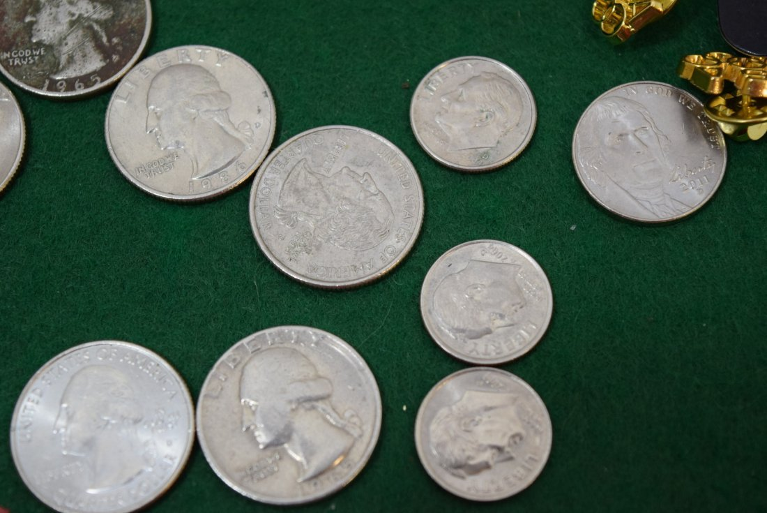COINS AND OLYMPIC PINS - 4