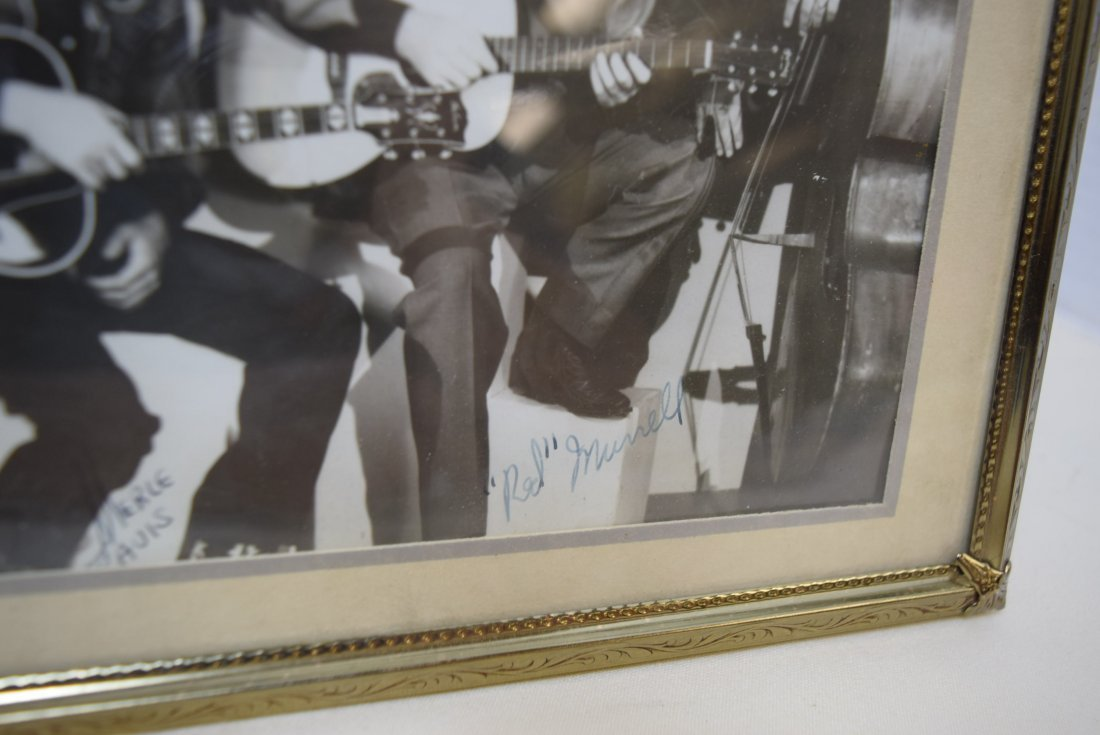 RARE OLD COUNTRY MUSIC STAR PHOTO WITH AUTOGRAPHS - 3