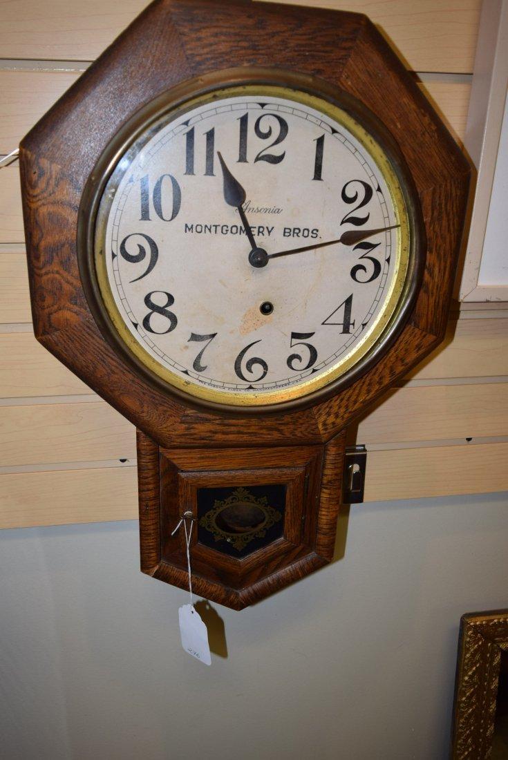 MONTGOMERY BROS WALL HANGING CLOCK